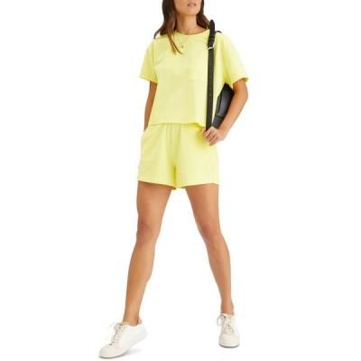 サンクチュアリー レディース シャツ トップス Dropped-Shoulder Cotton T-Shirt