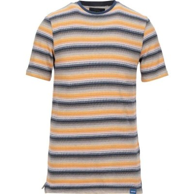 オンリーアンドサンズ ONLY & SONS メンズ Tシャツ トップス t-shirt Ocher