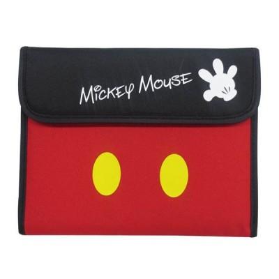 Disney ディズニー マルチケース(ミッキー&ミニー・パーツマーク) ジャバラタイプ DMS-2205