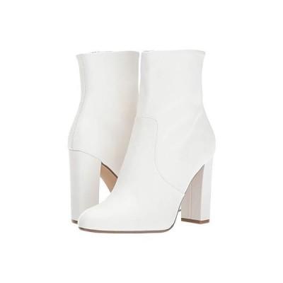 スティーブマッデン Editor Dress Bootie レディース ブーツ White Leather