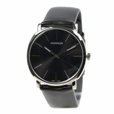 カルバンクライン 腕時計 メンズ cK Calvin Klein ポッシュ ブラック K8Q311C1