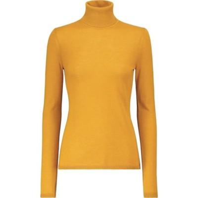 ガブリエラ ハースト Gabriela Hearst レディース ニット・セーター トップス Russel cashmere and silk sweater Saffron