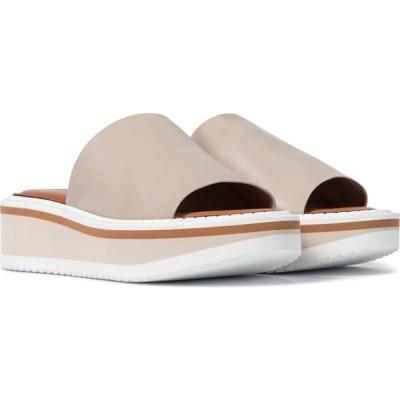 ロベール クレジュリー Clergerie レディース サンダル・ミュール シューズ・靴 fast leather platform slides Argile