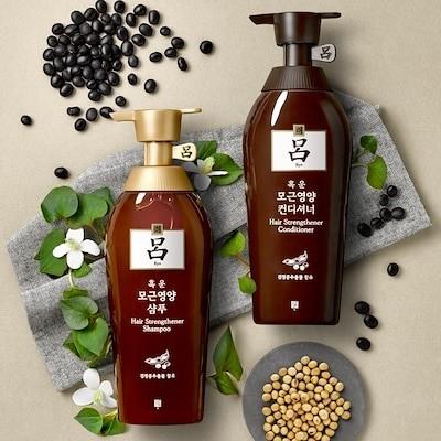 呂(リョ)(Ryo) 黒雲毛根栄養ヘア 500ml - 2種(タイプ) : 毛根強化+ヘアボリューム+栄養供給 ::韓国コスメ 呂(リョ)  Ryo