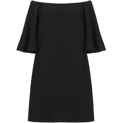 ピンコ PINKO ミニワンピース&ドレス ブラック 46 ポリエステル 100% ミニワンピース&ドレス