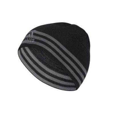 アディダス メンズ 帽子 アクセサリー Eclipse Reversible II Beanie Black/Onix/Grey
