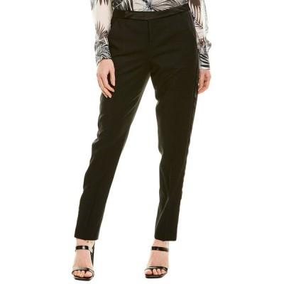エキプモン カジュアルパンツ ボトムス レディース Equipment Burcet Wool Trouser true black