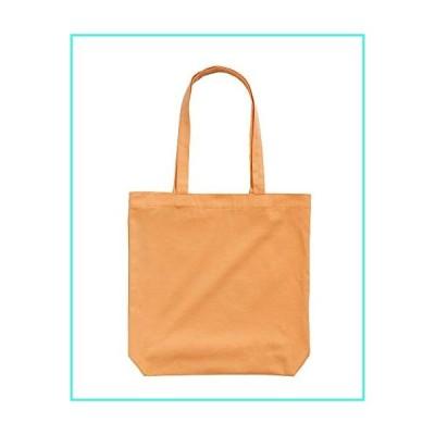 【新品】BAGGU Merch Tote, Simple and Easy Canvas Tote Bag, Cantaloupe(並行輸入品)
