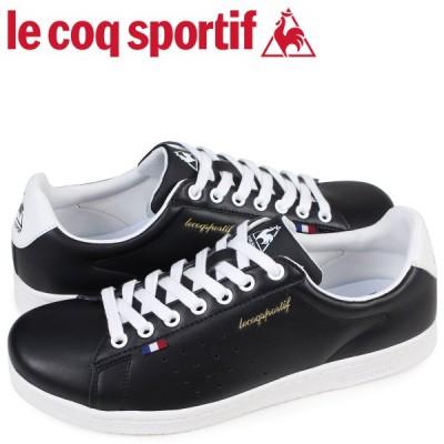 le coq sportif ルコック スポルティフ メンズ スニーカー LA ローラン LE ROLAND ブラック QMT-7313BW