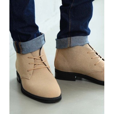 【ジギーズショップ】 チャッカブーツ / メンズ ブーツ メンズブーツ ショートブーツ シューズ スウェード スエード メンズ キャメル M(26.5cm) JIGGYS SHOP