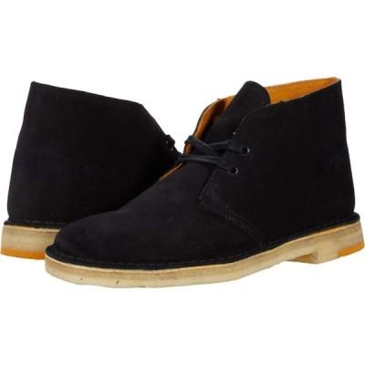 クラークス Clarks メンズ ブーツ シューズ・靴 Desert Boot Black Combi Suede