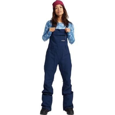 バートン Burton レディース スキー・スノーボード ビブパンツ ボトムス・パンツ Avalon Bib Pant Dress Blue