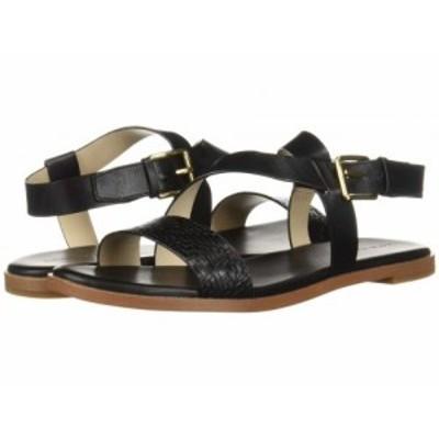 Cole Haan コールハーン レディース 女性用 シューズ 靴 サンダル Findra Strappy Sandal Black Leather【送料無料】