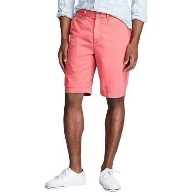 ラルフローレン メンズ ハーフ&ショーツ ボトムス Relaxed-Fit Twill 10#double; Inseam Surplus Shorts Nantucket Red