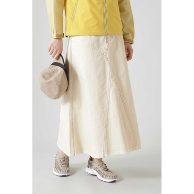 【ローズバッド/ROSEBUD】 [WHEIR Bobson]リメイク風フレアスカート