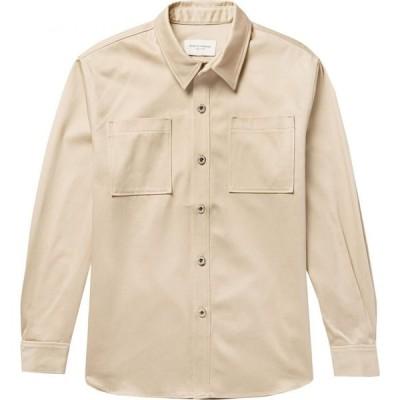 パブリック スクール PUBLIC SCHOOL メンズ シャツ トップス solid color shirt Beige