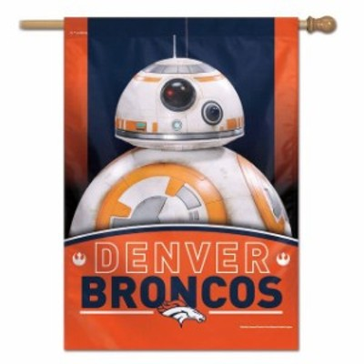 WinCraft ウィンクラフト スポーツ用品  WinCraft Denver Broncos 28 x 40 Star Wars Single-Sided House Banner