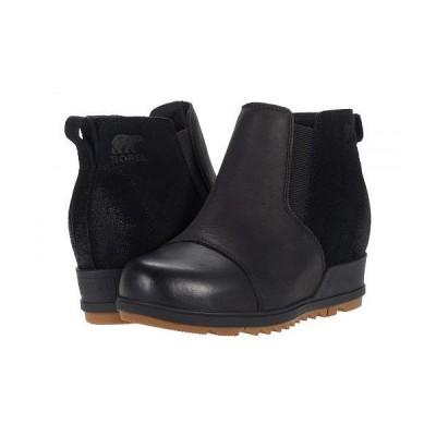 SOREL ソレル レディース 女性用 シューズ 靴 ブーツ アンクル ショートブーツ Evie(TM) Pull-On - Black