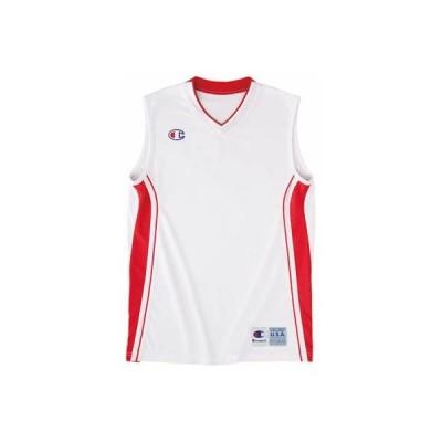 チャンピオン(champion) ジュニア ゲームシャツ CBYR2031 WS ホワイト/スカーレット 140