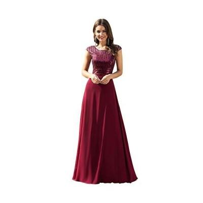 Ever-Pretty ドレス パーティードレス ワンピース キャバ レディース 演奏会 同窓会 結婚式 ウェディングドレス ロ