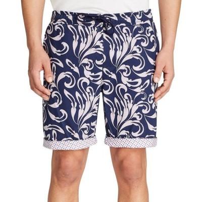 タリア メンズ ハーフパンツ・ショーツ ボトムス Men's Slim-Fit Gingham Drawstring 9 Shorts