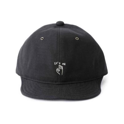 atmos pink / RIVER UP FIELD HAND SIGN BALL CAP / リバーアップ フィールド ハンドサイン ボールキャップ MEN 帽子 > キャップ