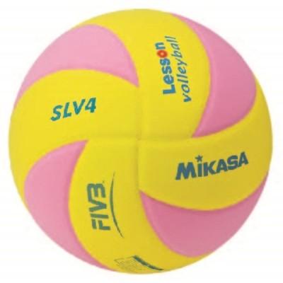 MIKASA SLV4-YP バレーボール ボール レッスンバレー 4号軽量 ミカサ【取り寄せ】