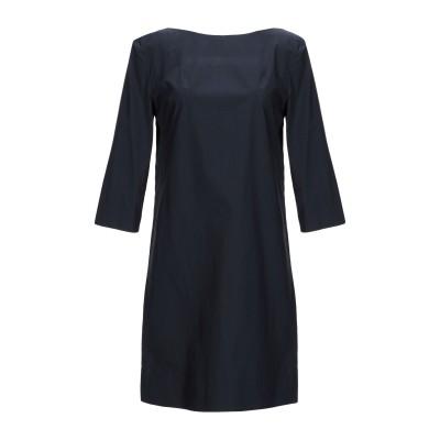 マルニ MARNI ミニワンピース&ドレス ダークブルー 38 コットン 100% ミニワンピース&ドレス