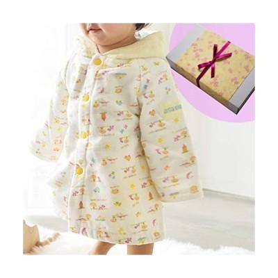 今治タオル 出産祝い 男の子 女の子 日本製 人気 ベビーバスローブ おくるみ ギフト メッセージカードセット (