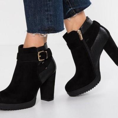 エイチアイエス レディース ブーツ High heeled ankle boots - black
