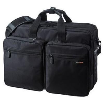ds-2100281 サンワサプライ 3WAYビジネスバッグ(出張用・大型) BAG-3WAY22BK (ds2100281)