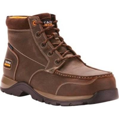 アリアト メンズ ブーツ&レインブーツ シューズ Edge LTE H2O Composite Toe Work Boot Dark Brown Leather
