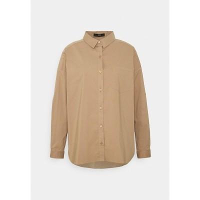 シュテフェン スクラウト シャツ レディース トップス NADJA BLOUSE - Button-down blouse - desert