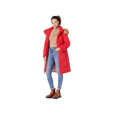 ケイトスペード Heavyweight Stretch Down Puffer Coat レディース コート アウター True Red