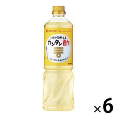 ミツカンミツカン カンタン酢 1L 6本