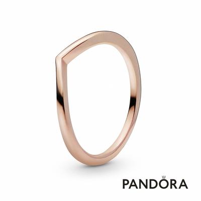 【Pandora官方直營】優雅許願骨戒指