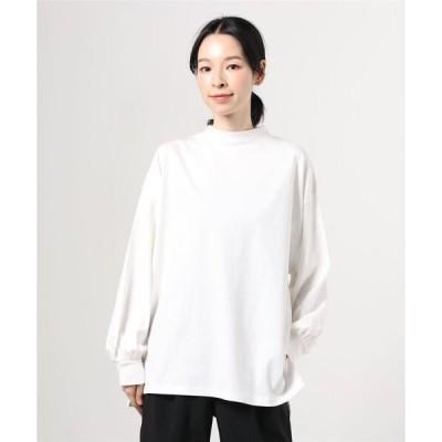 tシャツ Tシャツ 【WEB限定】BeAMS DOT / ハイネック ボリューム袖 プルオーバー