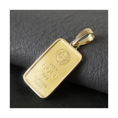 徳力本店 純金 K24 999.9 10g インゴット 地金 ペンダント 金貨 18金 24金 ゴールド