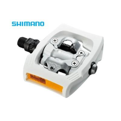 (半期決算セール)シマノ(SHIMANO) PD-T400 ホワイト SPDペダル