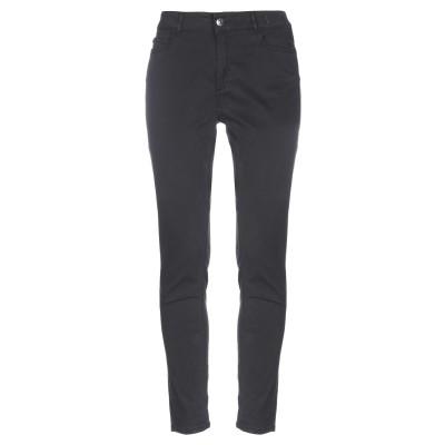 MY TWIN TWINSET パンツ ブラック 26 コットン 70% / テンセル 28% / ポリウレタン 2% パンツ