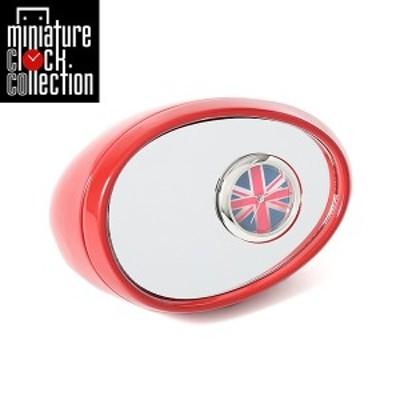 ミニチュア クロック 置時計 おしゃれ 小さい アナログ 卓上インテリア デザイン かわいい 雑貨 C3215-RD