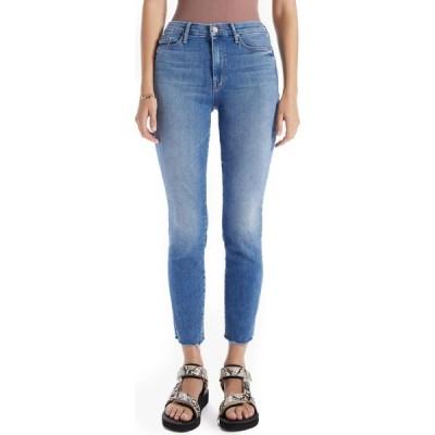 マザー MOTHER レディース ジーンズ・デニム スキニー ボトムス・パンツ The Looker High Waist Frayed Ankle Skinny Jeans Hey Sun