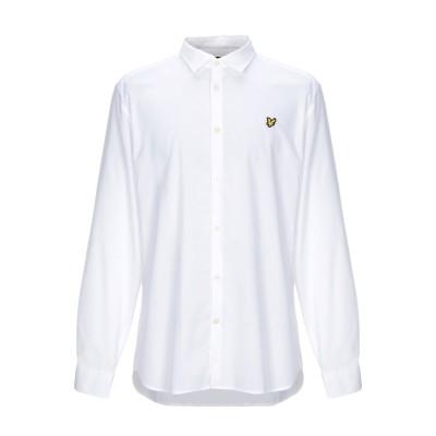 ライルアンドスコット LYLE & SCOTT シャツ ホワイト XL コットン 97% / ポリウレタン 3% シャツ