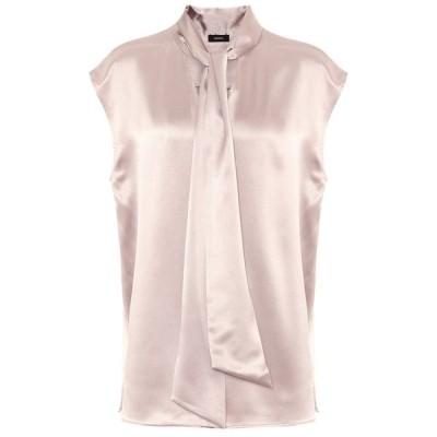 ジョゼフ Joseph レディース ブラウス・シャツ トップス nancy silk blouse Quartz