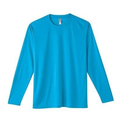 [グリマー]3.5オンス インターロックドライ長袖Tシャツ 00352-AIL AIL  ターコイズ 日本 S (日本サイズS相当)