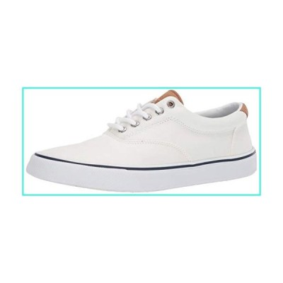 【新品】Sperry Men's Striper II CVO Core sneaker, SW White, 10.5 M(並行輸入品)