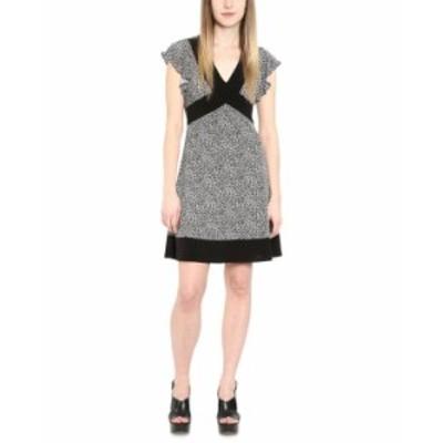 マイケルコース レディース ワンピース トップス Plus Size Cheetah-Print Contrast-Border Dress Gunmetal