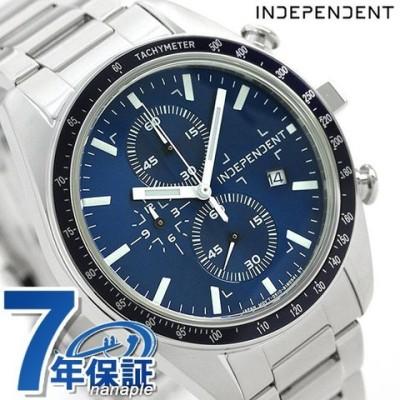 インディペンデント メンズ 腕時計 スポーティ クロノグラフ BA7-115-71 INDEPENDENT ブルー