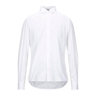 レ コパン LES COPAINS シャツ ホワイト 44 コットン 100% シャツ