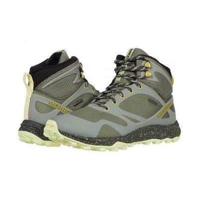 Merrell メレル レディース 女性用 シューズ 靴 ブーツ ハイキング トレッキング Altalight Mid Waterproof - Lichen